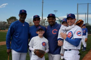 Families at Cubs Fantasy Summer Camp